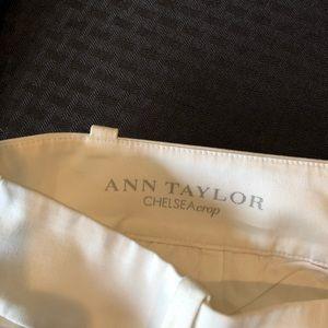 Ann Taylor Chelsea Crop pant